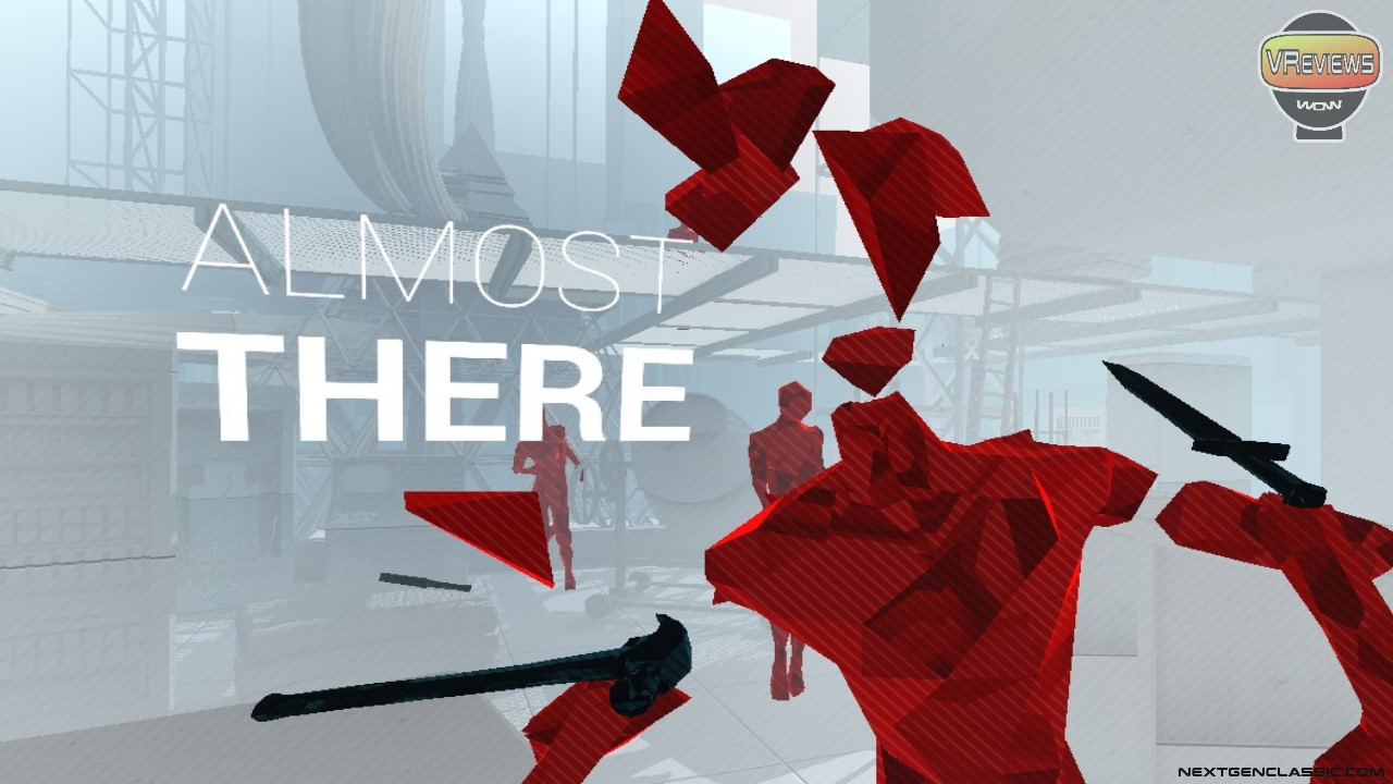 SuperHot VR in-game screenshot