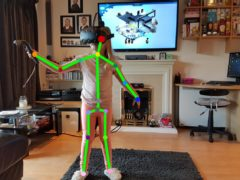 Kinect tracked virtual reality Bella Img